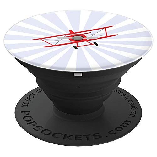 Take the airplane and fly away today - PopSockets Grip and Stand for Phones and Tablets