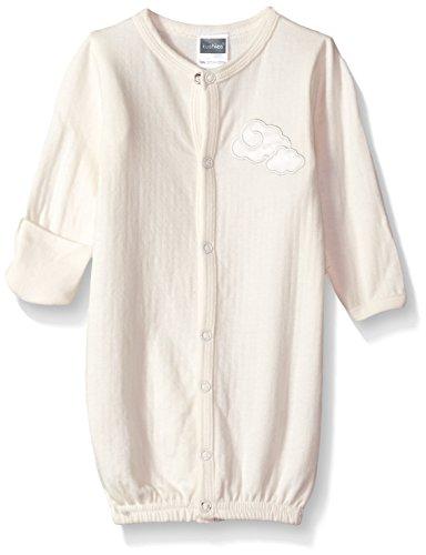 Kushies Baby Infant Classics Convertible Gown Star, Ecru, Preemie