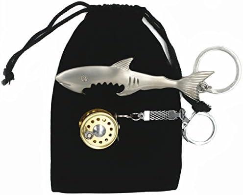 Amazon.com: mimilure carrete de pesca llavero y pescado ...