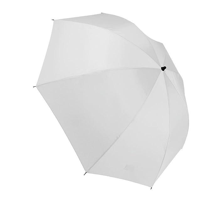 Kimood KI2012--Paraguas al revés blanco talla única