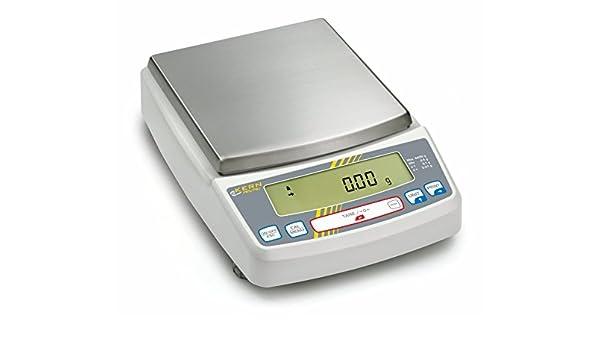 Balanza de precisión [Kern PBJ 6200-2M] Balanza de laboratorio multifuncional con sistema de pesaje Single-Cell y aprobación de homologación [M], ...