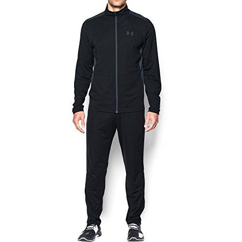 Under Armour Men's Maverick Warm-Up Suit, Black/Stealth Gray, - Suits Maverick