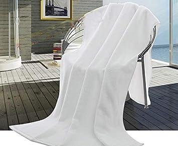 GBYJ FreeShipping Nuevo 180 * 90 cm 800 g Hotel Blanco Grandes Toallas de baño de