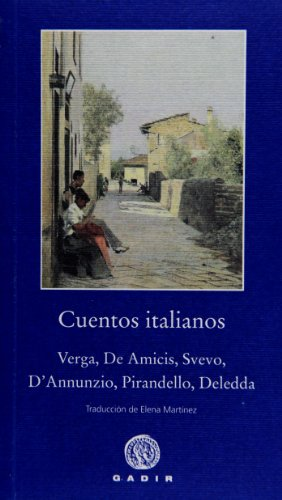 Cuentos Italianos (Pequeña Biblioteca Gadir) por Aa.Vv.,VV.AA.