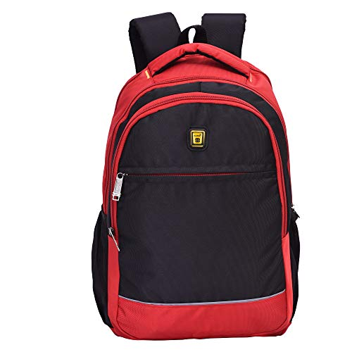 Blowzy Bags Waterproof,College School Bag with Laptop Compartment  Black