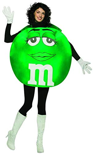 Green M&M Costume - ST