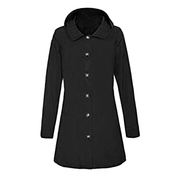 Niña Invierno fashion Abajo chaqueta,Sonnena ❤ Abrigo de botón de manga larga mujer otoño Abrigo de punto abierto con capucha Chaqueta de punto: ...