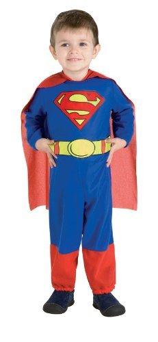 Superman Mono, Superman impresión, 6-12 Meses color del ...