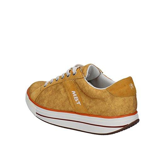 MBT Sneakers Mujer 38 EU Amarillo Textil Gamuza