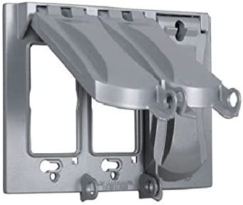 Caja de 3 interruptores para enchufes, resistente a la intemperie ...