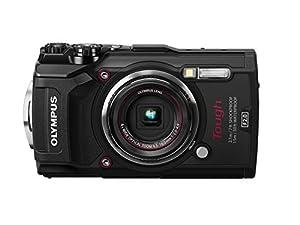 """Olympus 12 Waterproof TG-5 with 3"""" LCD, Black (V104190BU000) (Certified Refurbished)"""