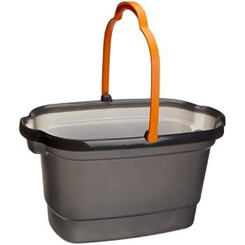 Casabella 4-Gallon Bucket, Graphite