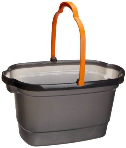 Casabella 4-Gallon Bucket, Graphite