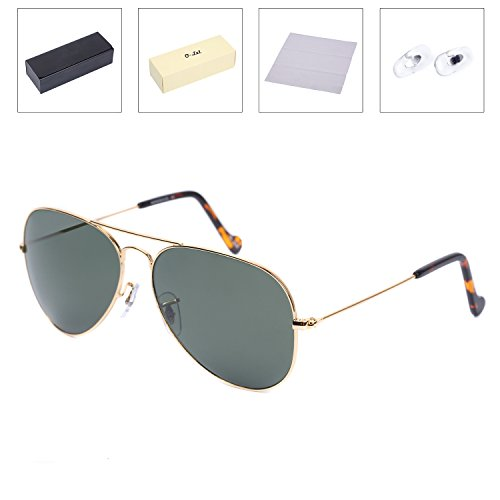 O-LET Polarized Sunglasses for Men Women, Aviator Glasses - To Polarize How Your Sunglasses