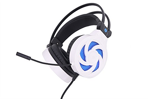 - Gaming Headset Mic for PC PS4 Laptop Computer Surround Sound Gamer Headphones with Mic by Geetobby