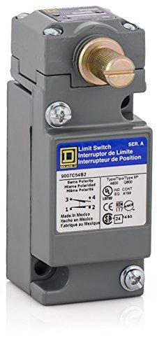 Square D by Schneider Electric 9007C54B2 Heavy Duty Nema Limit Switch, Full Size, 1 Pole, Std. Rotary Head, Cw + Ccw Operation