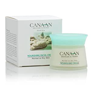 CANAAN Minerals & Herbs Dead Sea Nourishing Facial Cream - Normal to Dry Skin - 50ml