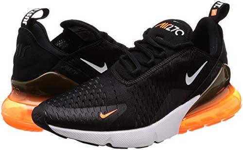 Nike Scarpe Ginnastica black Orange Basse Da Air Max 270 Multicolore total white Uomo 014 tqFxXtSrw