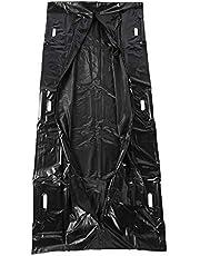 2 Piezas Desechables Dead Body Bag Abrigo del Cuerpo Bolsas Bolsas para Cadáveres A Prueba De Agua A Prueba De Fugas, para El Entierro O La Cremación Natural Bolsas De Almacenamiento (90*220cm)