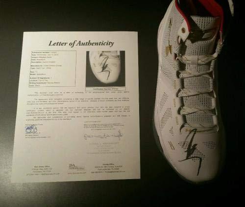 8ce7eca907308 Stephen Curry Signed Autographed Under Armour Shoe Size 13 LOA - JSA ...