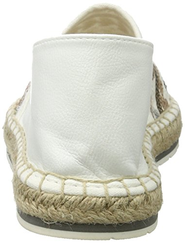 Marco Tozzi Damen 24219 Espadrilles Weiß (White Comb 197)