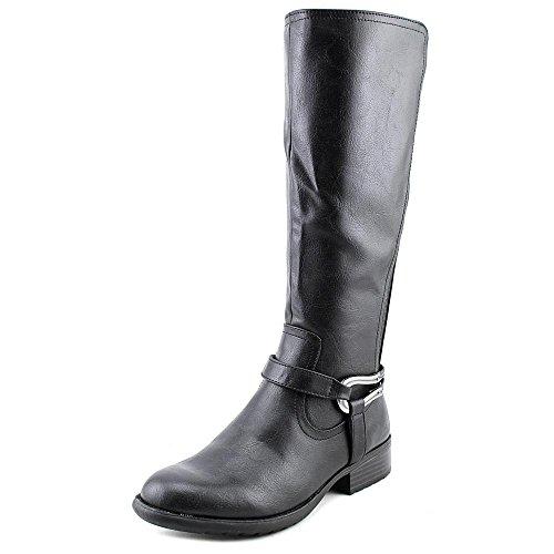 LifeStride Women's Xena Riding Boot,Black Wide Shaft,6 M US