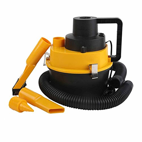 Portable Powerful Mini Auto Car Vacuum Cleaner Wet / Dry 12 Volt Canister Seat Dust Remover Hose Inflation Pump DC Plug iG-310