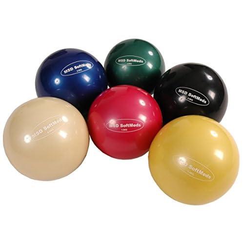 Balle poids SoftMed Ø 12 cm 1 kg - jaune