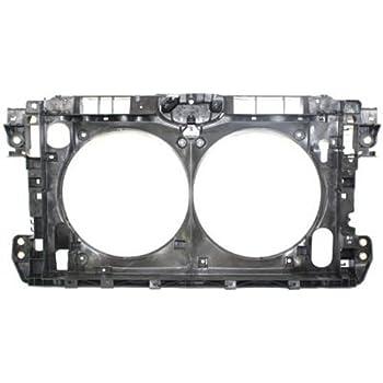 Radiator Support For 2007-2010 Hyundai Elantra Primed Assembly