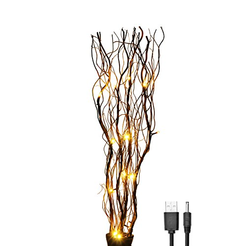 Brown Led Twig Lights