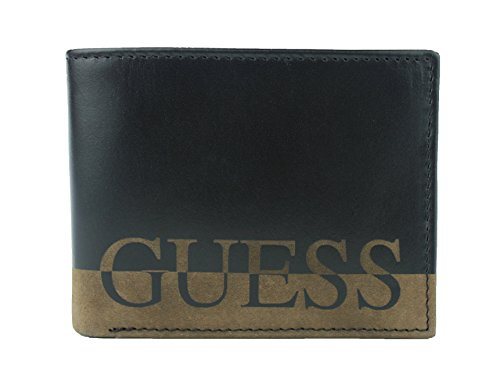 Leather Passcase Double Billfold Wallet