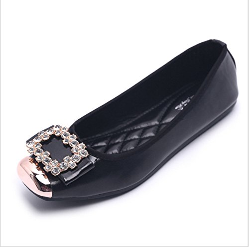 quadrato calzatura femmina three Donyyyy dimensione Forty scarpa Grande scarpe piatte wqSSf67