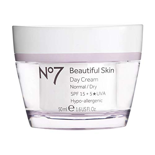 No7174; Beautiful Skin Day Cream Normal/Dry SPF 15-1.6oz