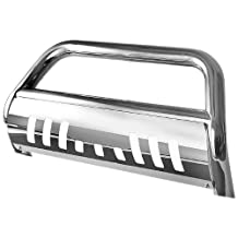 "Spyder Auto (BBR-CC-A02G0414) 3"" Polished T-304 Stainless Steel Bull Bar for Chevy Colorado"