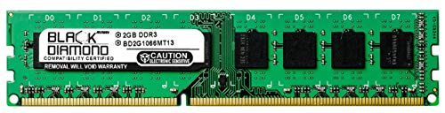 2GB RAM Memory for Acer Veriton X275-PD1 240pin PC3-8500 DDR3 DIMM 1066MHz Black Diamond Memory Module Upgrade ()