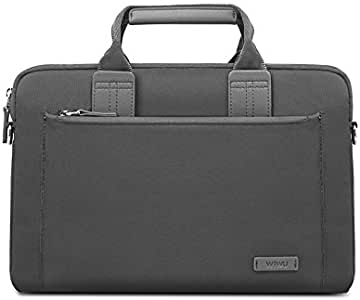 FUNUT Laptop Sleeve for MacBook 13 Inch,Waterproof & Multifunctional Brifecase Handbag for ChromeBook, Dell, Huawei, Samsung Laptops - Gray