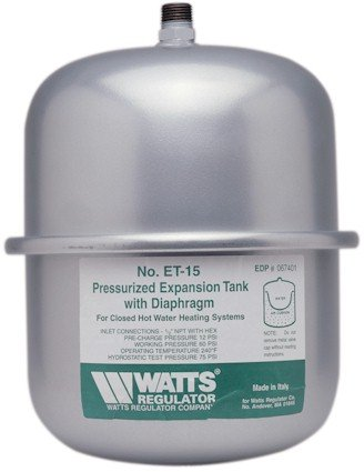 (Watts ET-15 2.1 Gallon Non Potable Water Expansion Tank)