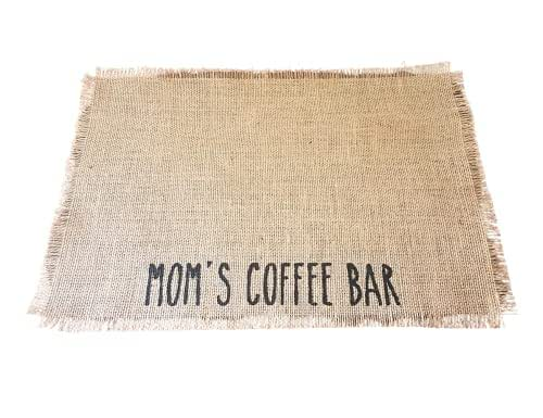 Farmhouse Coffee Bar Decor Nana/'s Coffee Bar Mat Mothers Day Gift For Nana From Grandkids Rustic Coffee Maker Mat Mat For Keurig