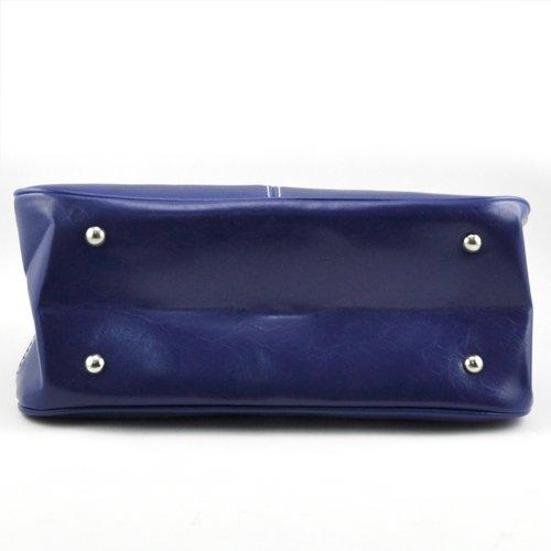 TOOGOO(R) - Bolso de tela para mujer Naranja naranja Azul
