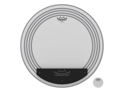 Coated 20 Bass Drum - Remo Powersonic Coated Bass Drumhead, 20