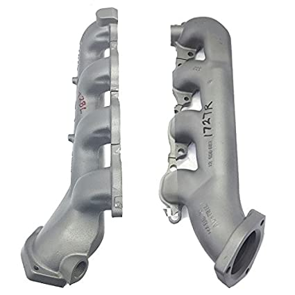 L+R Pair OEM Exhaust Manifolds 7 4L (454) Chevrolet GMC 2500 3500 Pickups