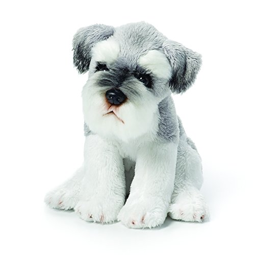 Animal Plush Miniature (Demdaco Nat & Jules Schnauzer Beanbag)