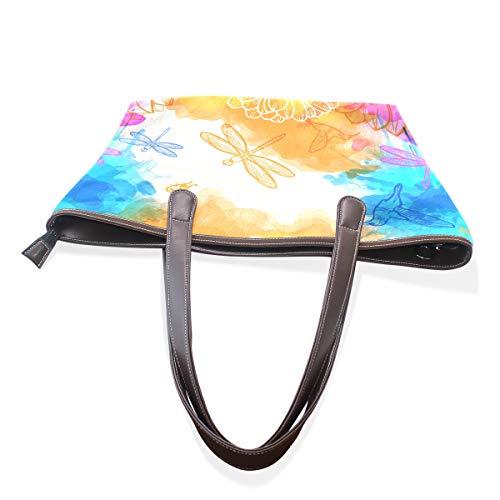 hombro para TIZORAX multicolor al mujer Bolso q6CEwxCUf