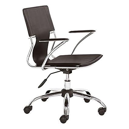 Attrayant Zuo Modern Trafico Office Chair, Espresso