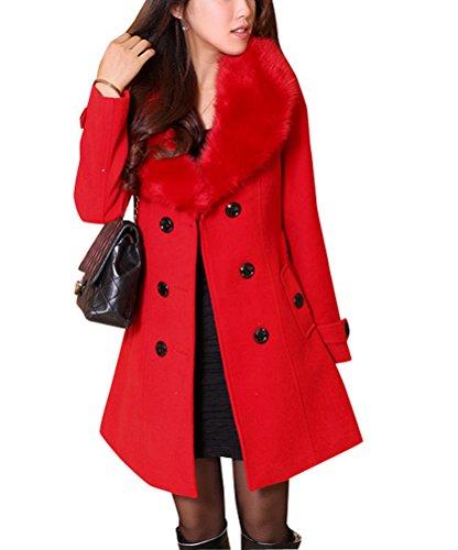 Damen mantel knielang