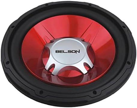 Belson BELBSS-1235 - Subwoofer, color rojo: Amazon.es: Electrónica