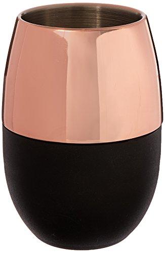 Cork Pops Freezer Gel Beverage Cup, Copper Black