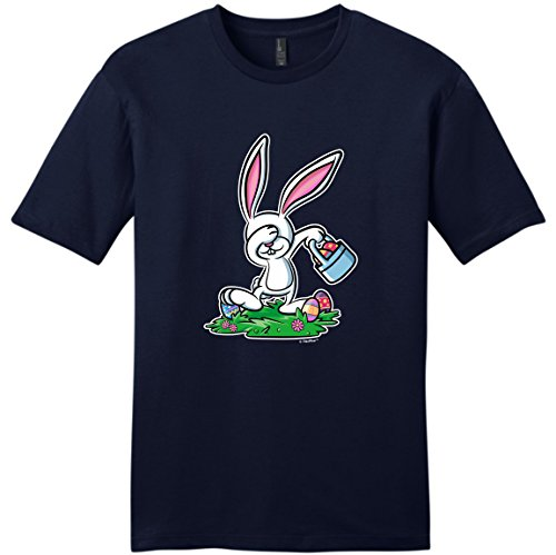 [Easter Bunny Costume Easter Christian Easter Chocolate Bunny Dabbing Easter Bunny Funny Easter Gifts Young Mens T-Shirt 3XL] (Plus Size Easter Bunny Costumes)