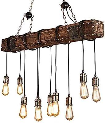 CARYS Lamparas de techo vintage lampara techo habitacion ...