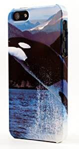 Orca Killer Whale Jumping With Alaskan Background Dimensional Case Fits iPhone 5c